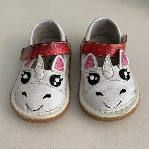 42242145f76 Wee Squeak Unicorn Shoes - Size 4